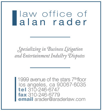 Announcing the Law Office of Alan Rader